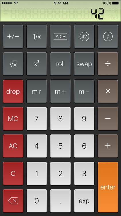PCalc Lite screenshot-2