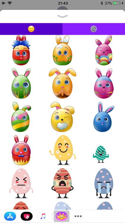 Happy Easter Emoji screenshot-5