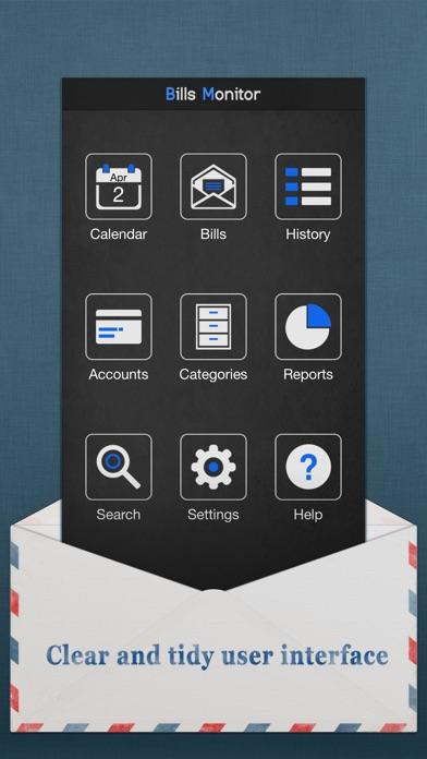 Bills Monitor Pro Screenshot