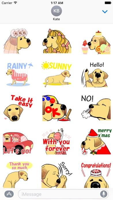 Labrador Retriever Dog Sticker
