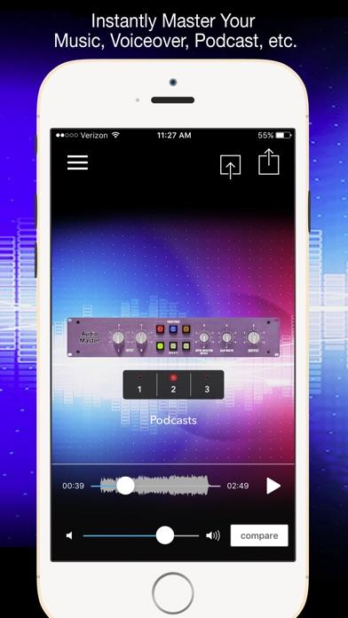 Screenshot #6 for AudioMaster Pro