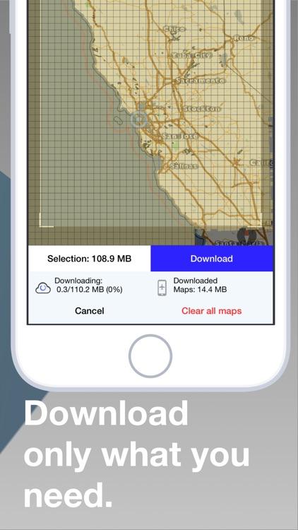 kmaps.co - Offline Nav & Maps screenshot-4