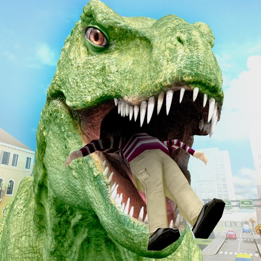 Dinosaur Simulator City Hunter
