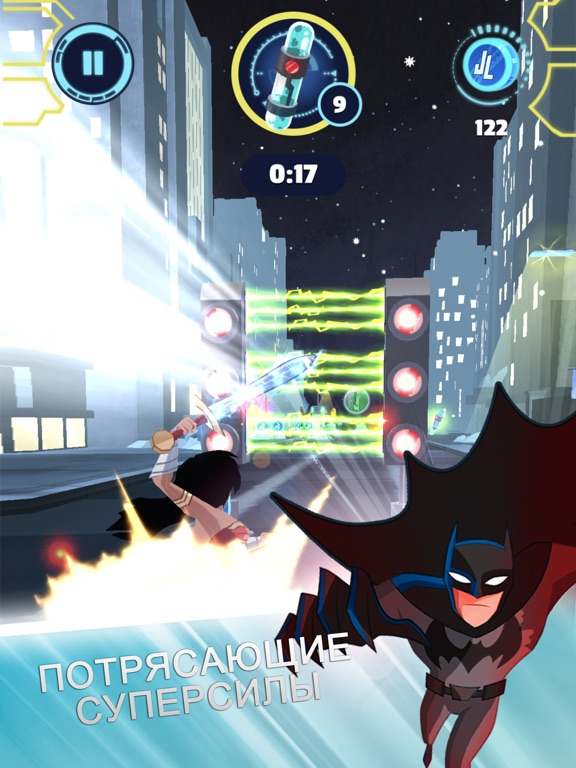 Justice League Action Run для iPad