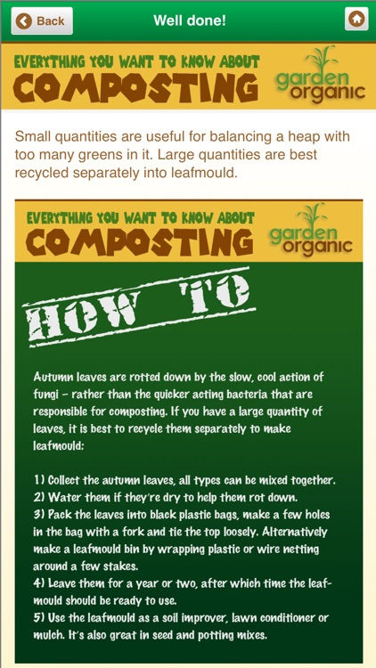 Organic Home Composting screenshot-1