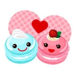 Sweet Macaroon Sticker