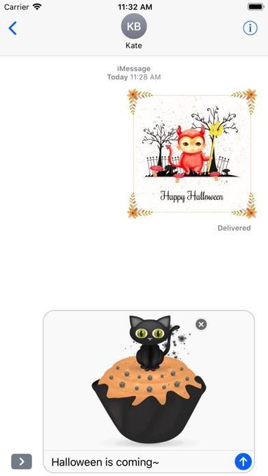 Beautiful Watercolor Halloween screenshot 2
