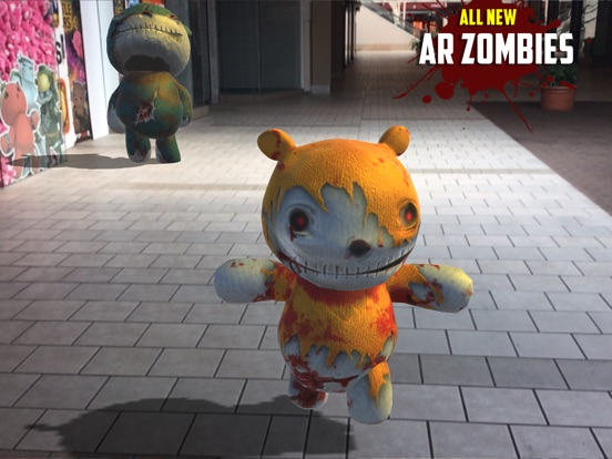 BATTLE BEARS ZOMBIES AR на iPad