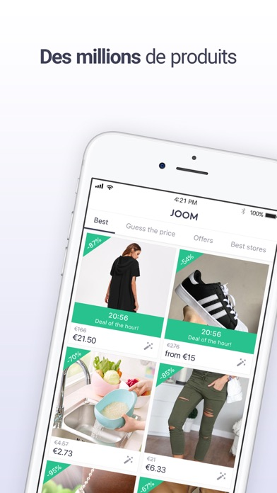 joom v tements chaussures app revisi n shopping apps rankings. Black Bedroom Furniture Sets. Home Design Ideas