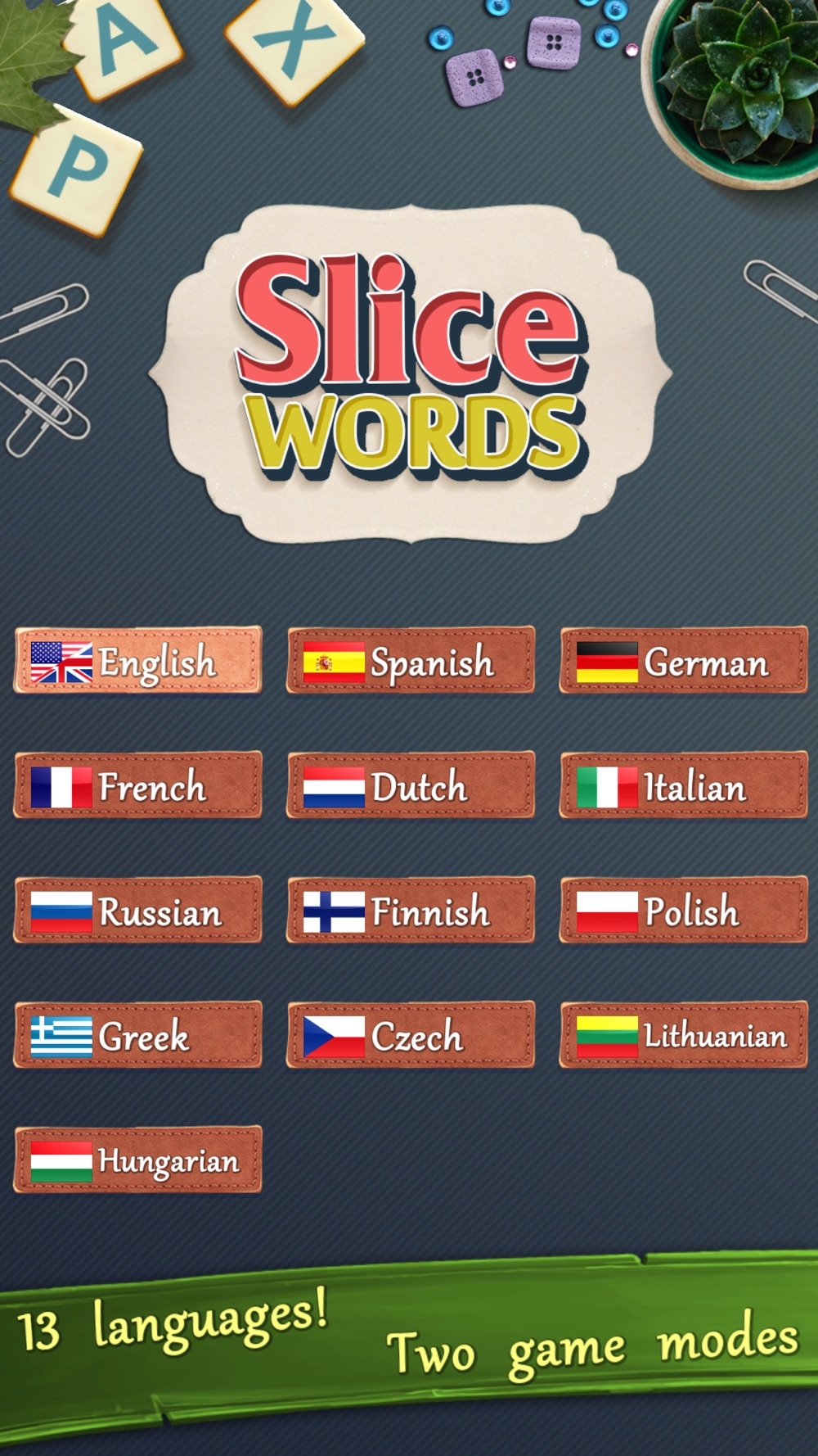 Slice Words Cheat Codes