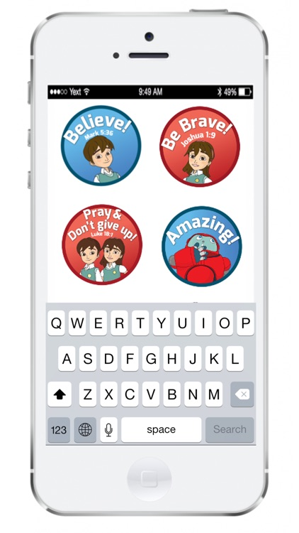 SuperBook Stickers