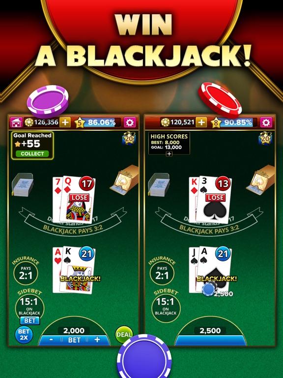 Blackjack 21 - Platinum Player screenshot 8