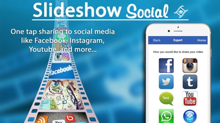 Slideshow Social - With Music screenshot-3