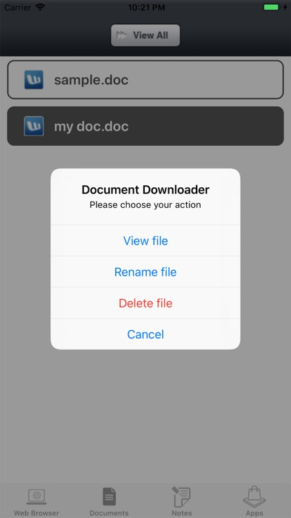 Document Manager by HD