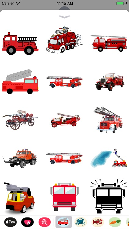 Fire Truck Stickers