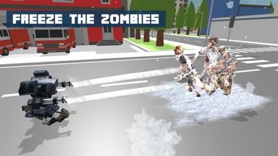 Snow Robot War: Freezing Power screenshot 1