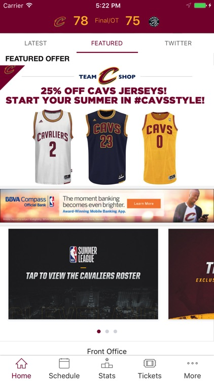 Cleveland Cavaliers screenshot-1