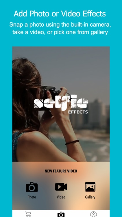 Photo Video Editor 4 Live Camera - Selfie Effects screenshot-1