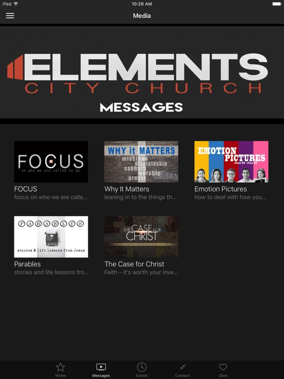 Elements City Church screenshot 5