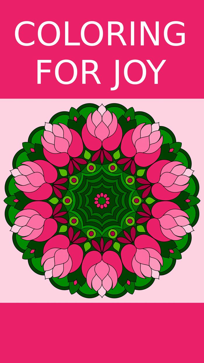 Adult Coloring Book! Screenshot
