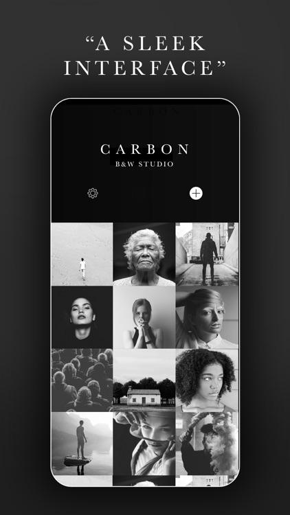 Carbon - B&W Photo Editor screenshot-3