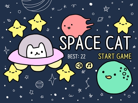 Play Space Cat the Video Game