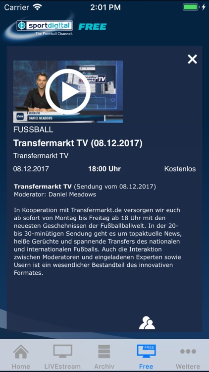 Sportdigital Live By Sportainment Medien Gmbh Co Kg