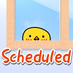 ScheduledList Countdown