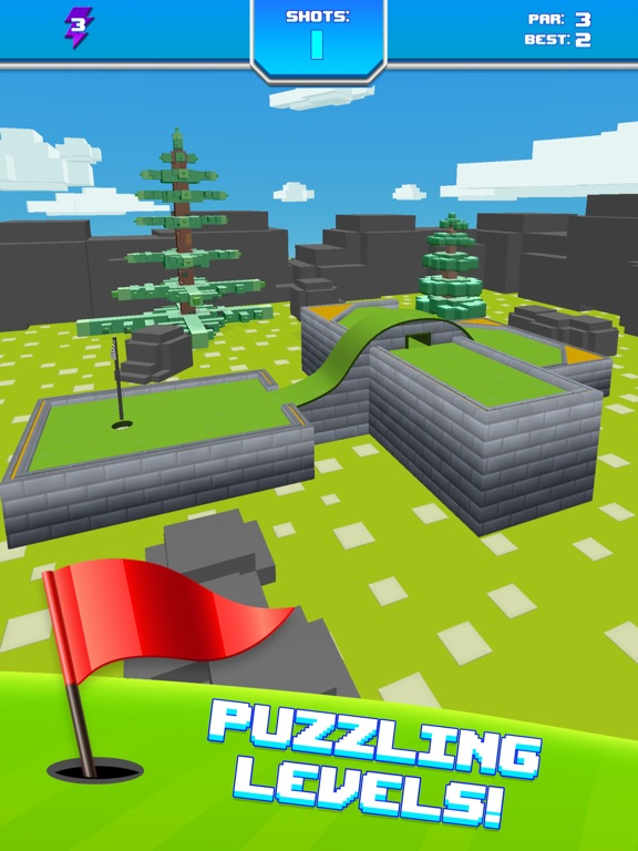 Mini Golf Star Retro Golf Game Скриншоты13