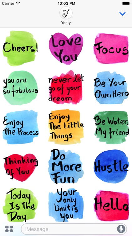 Watercolour Greeting Messages screenshot-4