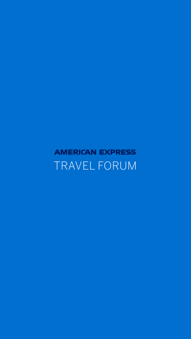American Express Travel Forum screenshot 1