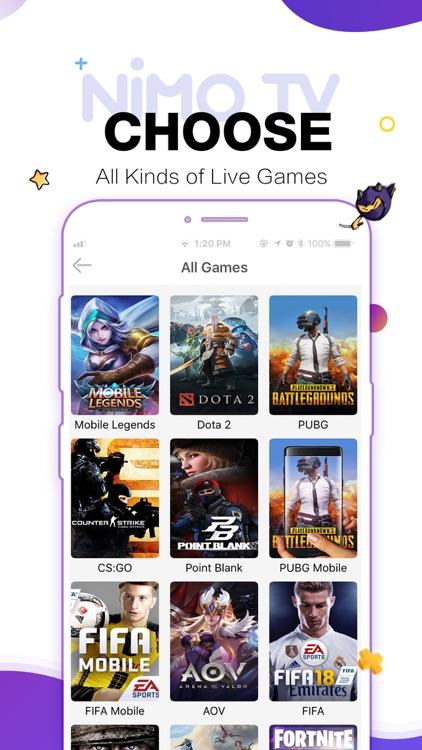 Nimo TV-Play. Live. Share. screenshot-6