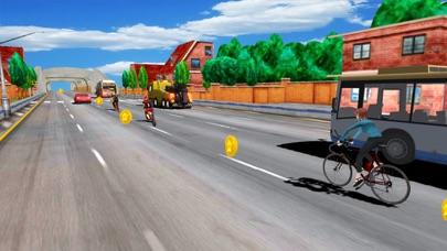 In Bicycle Racing on Highway screenshot 2