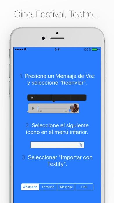 Screenshot for Textify - No escuches.. Lee! in Ecuador App Store