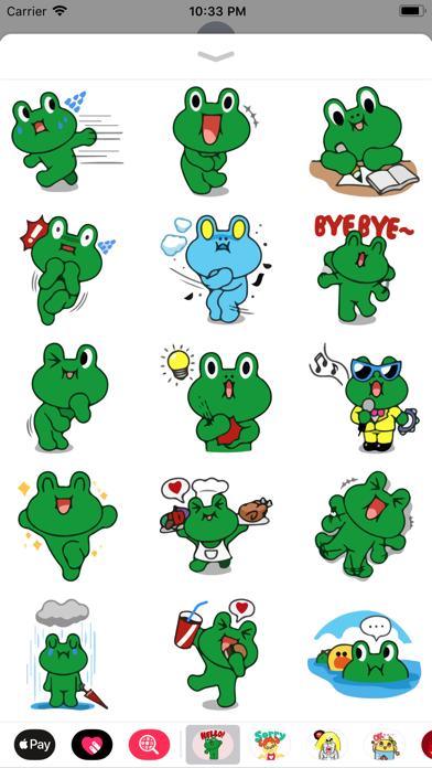 Grino is Witty Sticker Pack IM screenshot three
