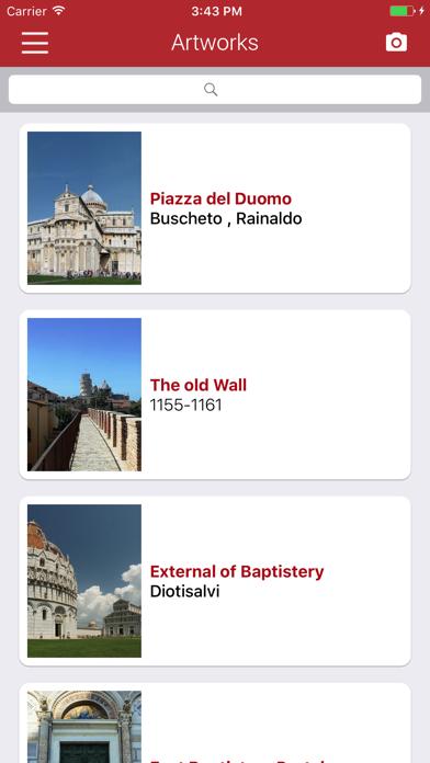 Pisa Miracles Guide screenshot three