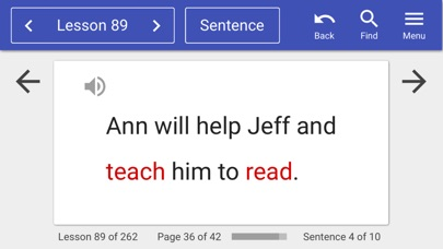 Ultimate Phonics Reading App Screenshot