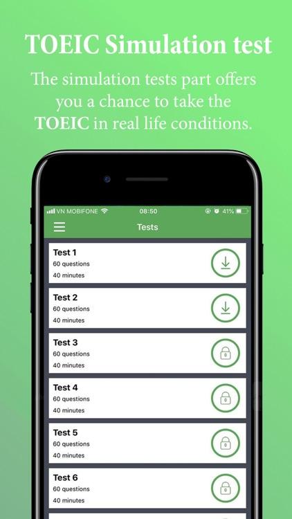 TOEIC Test-Improve your score screenshot-4