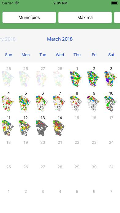 Calendário das chuvasのおすすめ画像1