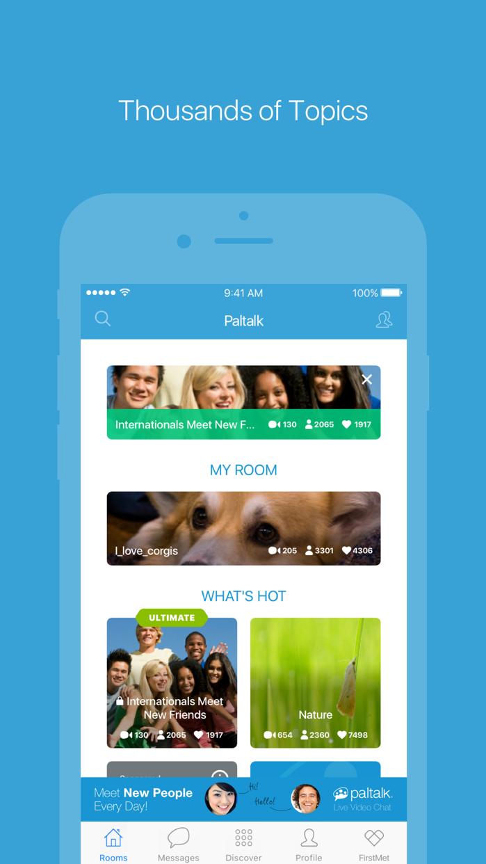 Paltalk - Group Video Chat App Screenshot