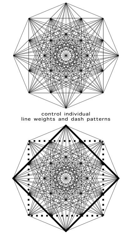 Entangle - Geometric drawing screenshot-3