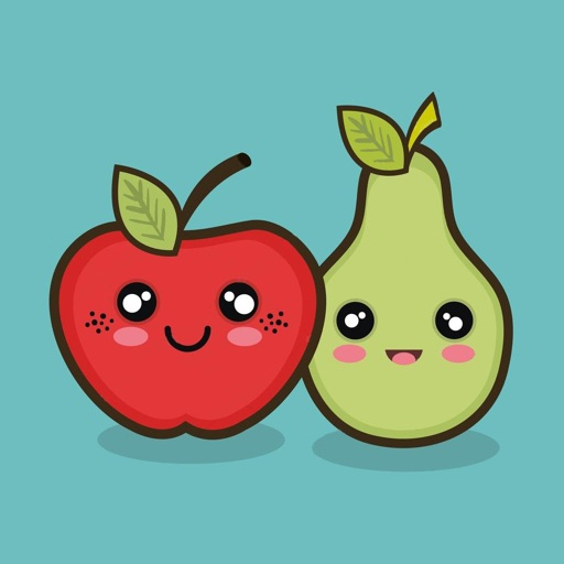 Cute Fruit Kawaii Stickers