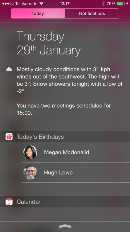 #BDay - The Birthday App screenshot-3