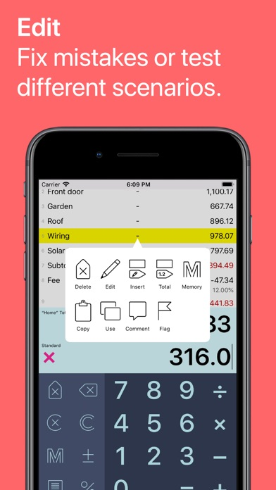 Screenshot #7 for Digits Tape Calculator