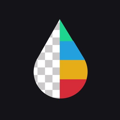 Color Splash + Blur Background
