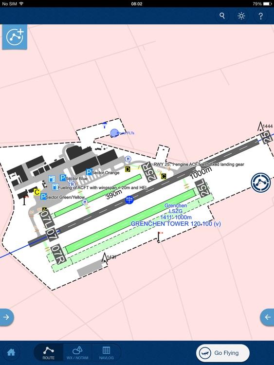 Jeppesen Mobile FliteDeck VFR screenshot-3