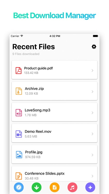 Sam : Browser and File Manager for Documents