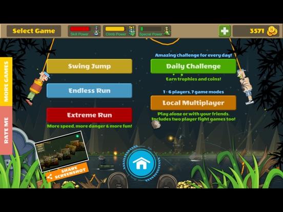 Rope Heroes : Hole Runner Game screenshot 9