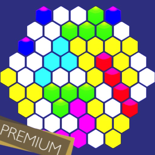 Hexagonal Merge - Premium icon
