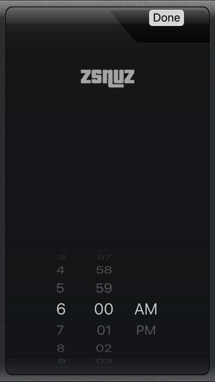 zsnuz snooze alarm + nap timer screenshot-4